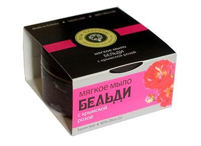 """Мягкое мыло БЕЛЬДИ """"С крымской розой"""""""