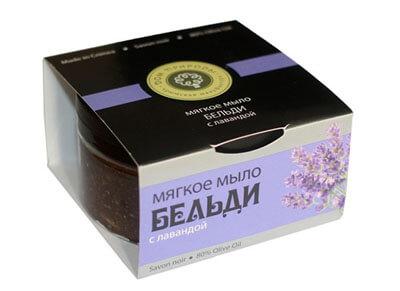 """Мягкое мыло БЕЛЬДИ """"С лавандой"""""""