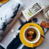 Черный чай с чабрецом и календулой