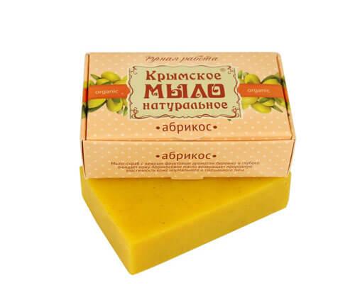 """Крымское мыло натуральное """"АБРИКОС"""""""