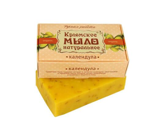 """Крымское мыло натуральное """"КАЛЕНДУЛА"""""""