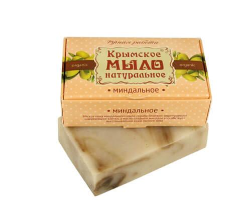 """Крымское мыло натуральное """"МИНДАЛЬНОЕ"""""""