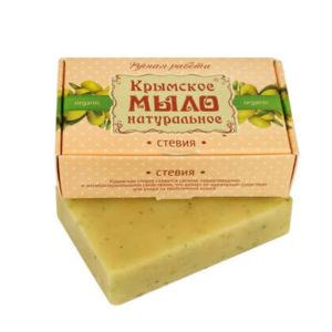 """Крымское мыло натуральное """"СТЕВИЯ"""""""