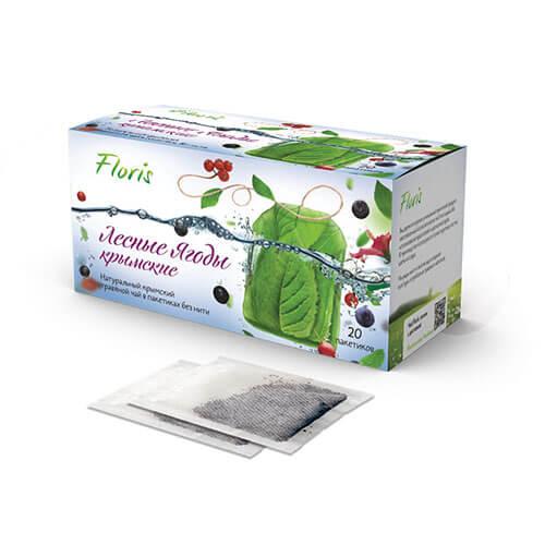 """Фруктово-травяной чай """"Лесные ягоды"""""""