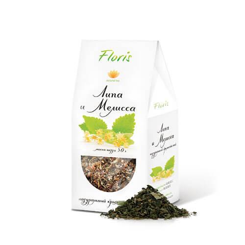 """Травяной чай """"Липа и мелисса"""""""