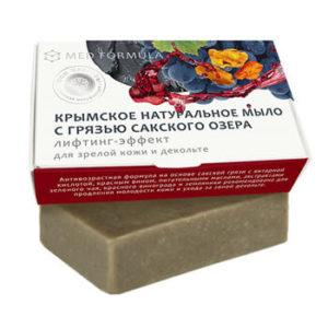 Натуральное мыло на основе лечебной грязи Сакского озера - MED formula «Лифтинг-эффект»