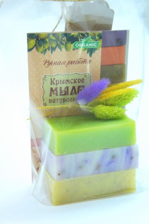 Мини-набор крымского натурального мыла ручной работы