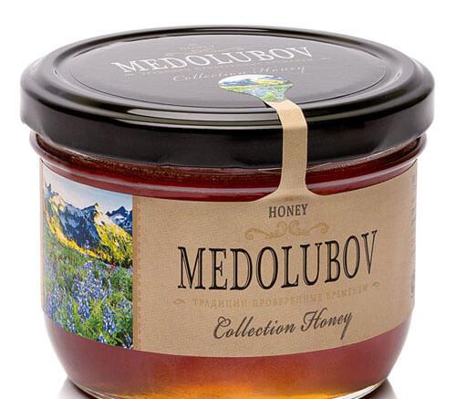 Крем-мёд Медолюбов горный тянь-шань