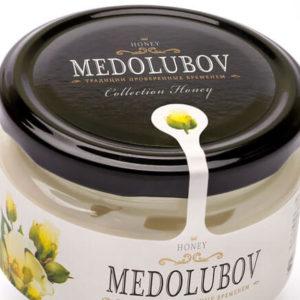 Крем-мёд Медолюбов хлопковый