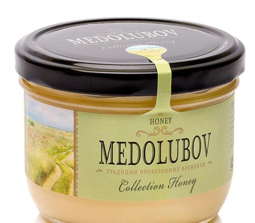 Крем-мёд Медолюбов луговое разнотравье