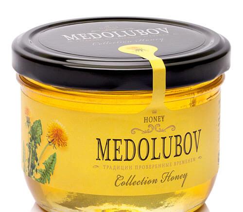 Крем-мёд Медолюбов одуванчиковый