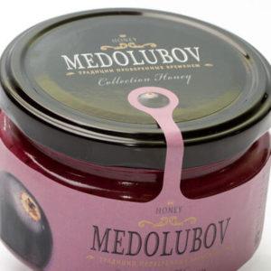 Крем-мёд Медолюбов с черной смородиной