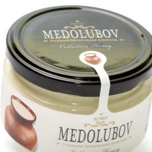 Крем-мёд Медолюбов с молоком