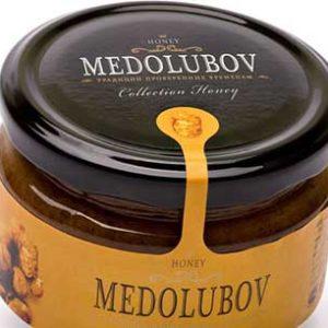 Крем-мёд Медолюбов с пергой