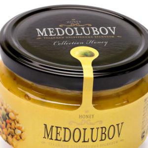 Крем-мёд с пыльцой