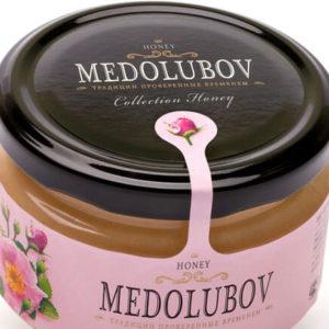 Крем-мёд Медолюбов шиповниковый