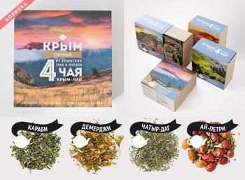 Набор плодово-травяных чаев «Крым Горный»
