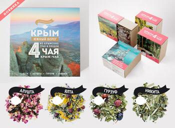 Набор плодово-травяных чаев «Крым - Южный берег»