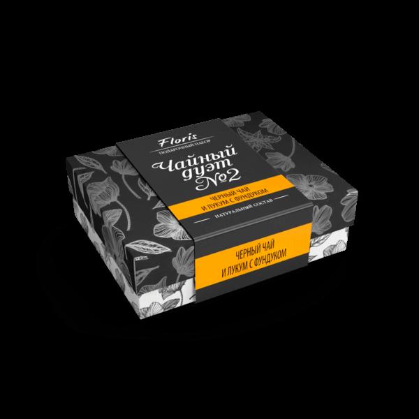 Подарочный набор чая «Чайный дуэт №2» Подарок 2 в 1