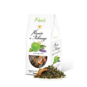 """Фруктово-травяной чай """"Яблоко и лаванда"""""""