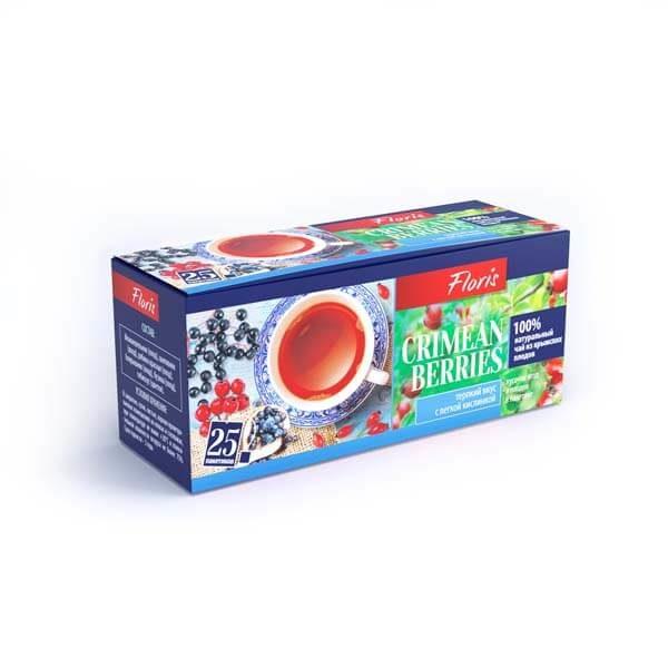 "Фруктово-травяной чай в пакетиках ""Crimean Berries"""