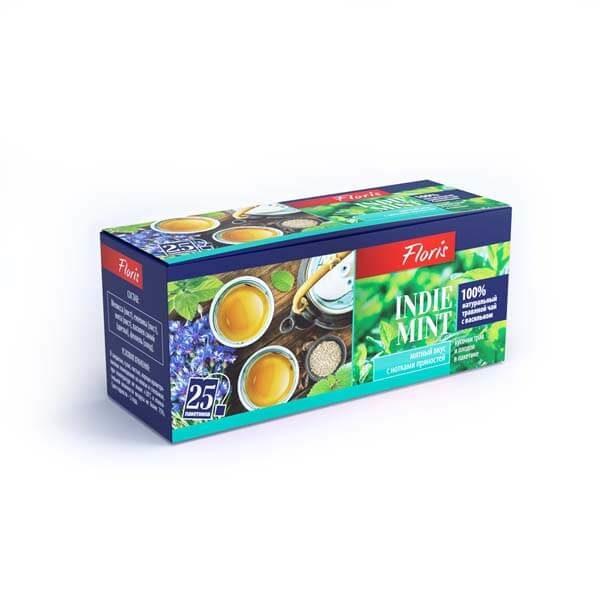 "Травяной чай в пакетиках ""Indie Mint"""