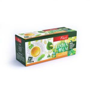 """Зеленый чай в пакетиках """"Linden Balm"""""""