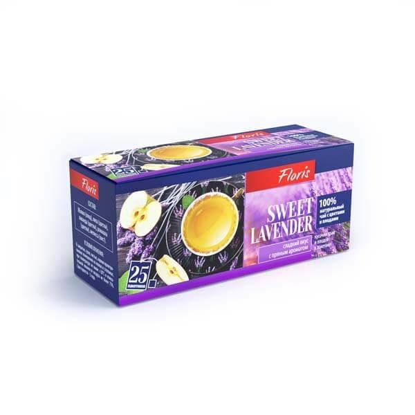"""Фруктово-травяной чай в пакетиках """"Sweet Lavender"""""""