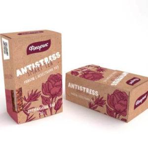 """Натуральный чай ройбуш с лепестками роз """"Антистресс"""""""