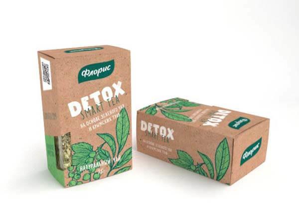"""Натуральный чай на основе зеленого чая и крымских трав """"Детокс"""""""
