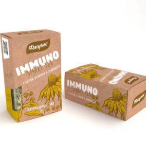 """Натуральный чай с липой, бузиной и эхинацеей """"Иммуно"""""""