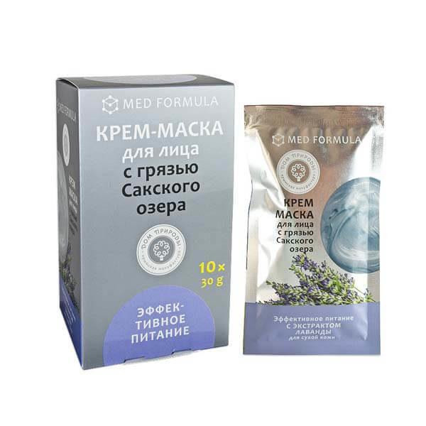 """Крем-маска с Грязью Сакского озера """"Эффективное питание"""""""