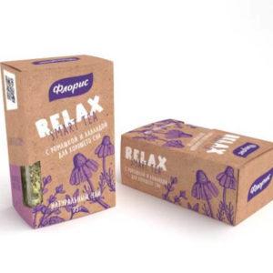 """Натуральный чай с ромашкой и лавандой """"Релакс"""""""