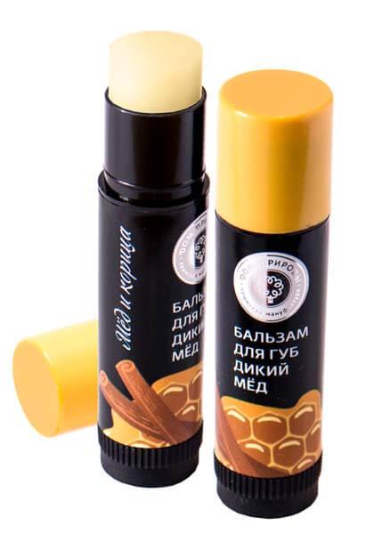 Натуральный бальзам для губ - дикий мед