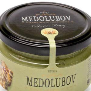 Крем-мёд Медолюбов с прополисом европейским