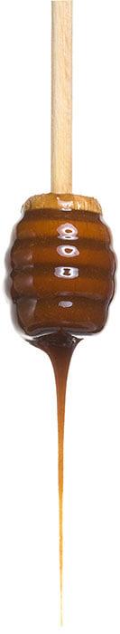 Крем-мёд Медолюбов с фундуком (тёмный)