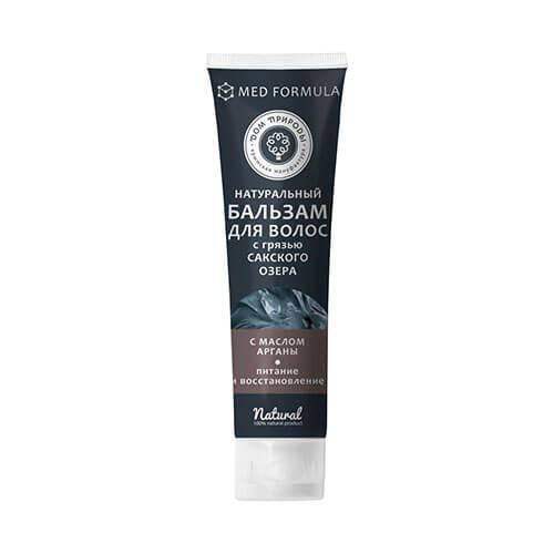 """Натуральный бальзам для волос с грязью Сакского озера """"Питание и восстановление"""""""