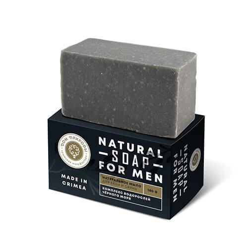 """Натуральное мыло с комплексом водорослей Черного моря """"Для бани и сауны"""""""