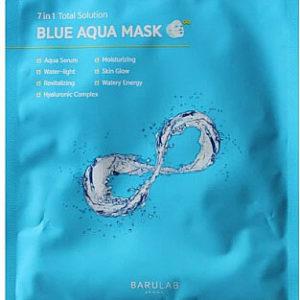 Ультраувлажняющая тканевая маска Barulab Total Solution Blue Aqua Mask