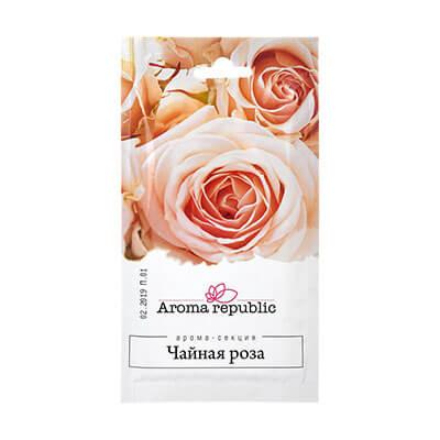 """Ароматическое саше чайная роза """"Aroma republic"""""""