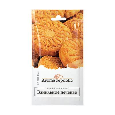 """Ароматическое саше ванильное печенье """"Aroma republic"""""""