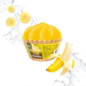 """Бурлящий шар для ванны Банановый маффин """"Bliss Organic"""""""