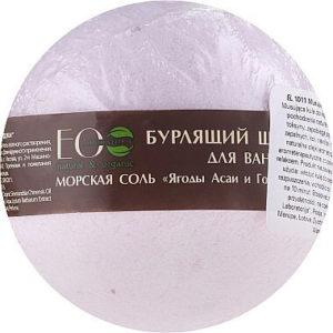 """Бурлящий шар для ванны Ягоды асаи и Годжи """"Eco Laboratorie"""""""