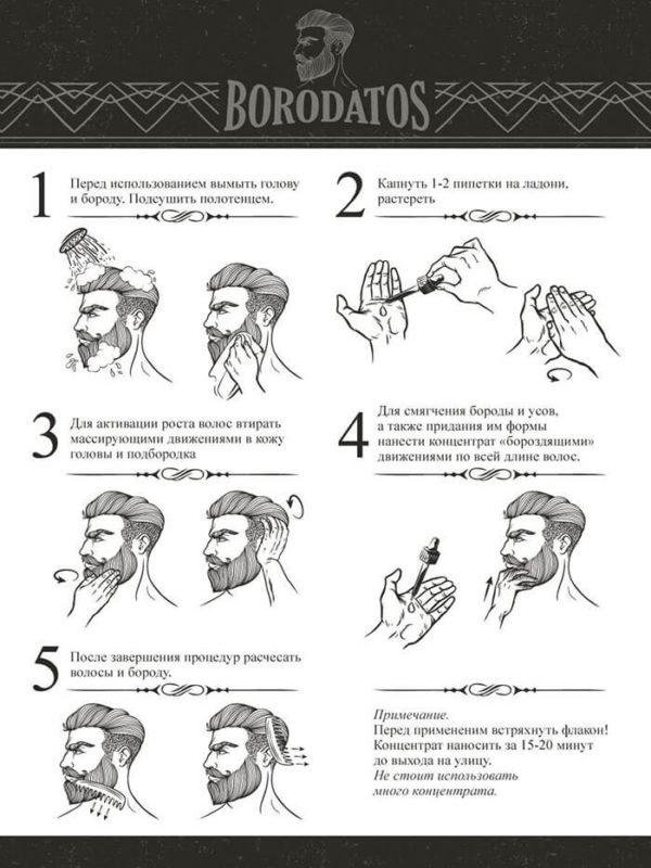 Двухфазный концентрат для роста волос
