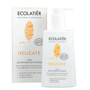 """Гель для интимной гигиены Delicate с органическим экстрактом лотоса Ecolatier """"Eco Laboratorie"""""""
