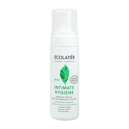 "Пенка для интимной гигиены Intimate Hygiene с экстрактами шалфея и хлопка Ecolatier ""Eco Laboratorie"""