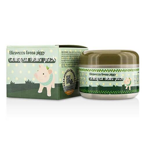 """Маска коллагеновая для лица с эффектом лифтинга Green Piggy Collagen Jella Pack """"Elizavecca"""""""