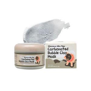 """Глиняно-пузырьковая маска очищающая Milky Piggy Carbonated Bubble Clay Mask """"Elizavecca"""""""