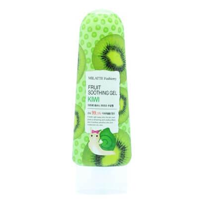 """Многофункциональный гель для лица и тела с экстрактом киви Fashiony Fruit Soothing Gel Water Melon """"Milatte"""""""