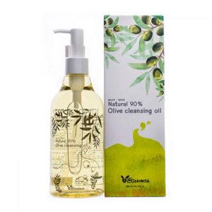 "Гидрофильное масло с оливой 90% Milky-Wear Natural Olive Cleansing Oil ""Elizavecca"""